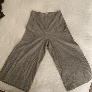 Aritzia - Wool Crop Flared Trousers